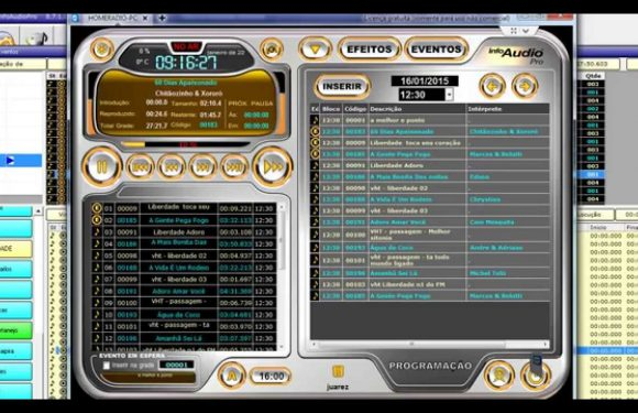 Automação Para Rádios InforÁudio Pro 8.7 Vídeo Atualizado 2019