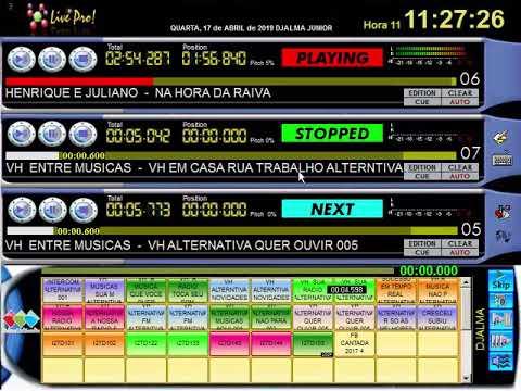 Pulsar Live Pro Vídeo Atualizado Varias Dicas e Cadastrando musicas em massa Veja Ate o Fim