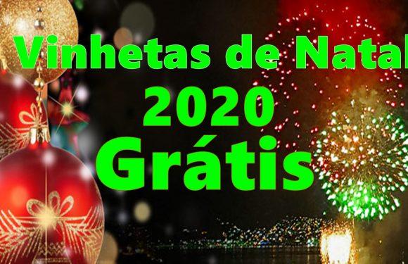 Vinhetas de Natal Grástis 2020, Baixe Agora Sem Nomes de Radios