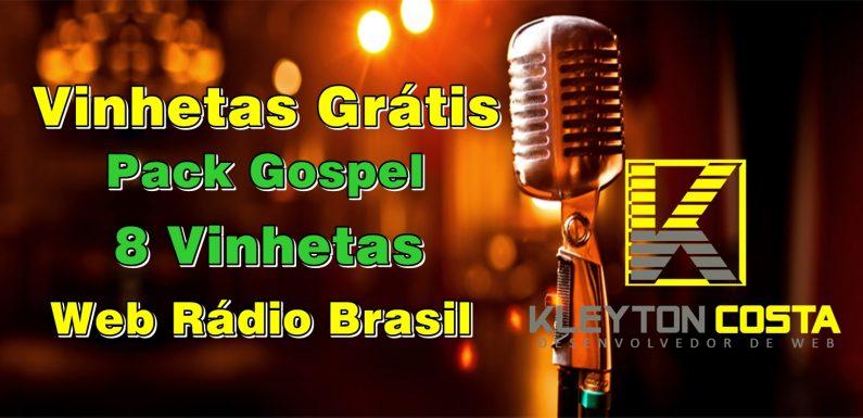 Baixar Gratis Vinhetas, Pack Rádio Gospel 8