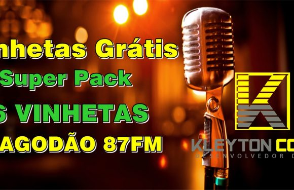 Vinhetas para programa de pagode, PAGODÃO 87FM, Baixe Grátis